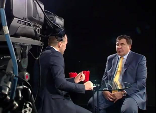 """Только бить и очень сильно: """"Я не раз пытался заключит соглашение с Путиным: это абсолютно невозможно, как договорится с крокодилом"""", - Саакашвили (видео)"""