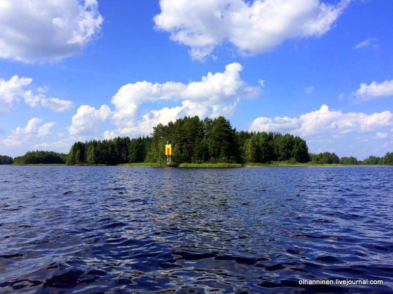 Самостоятельно построенный дом на озере в Финляндии. Эксклюзив