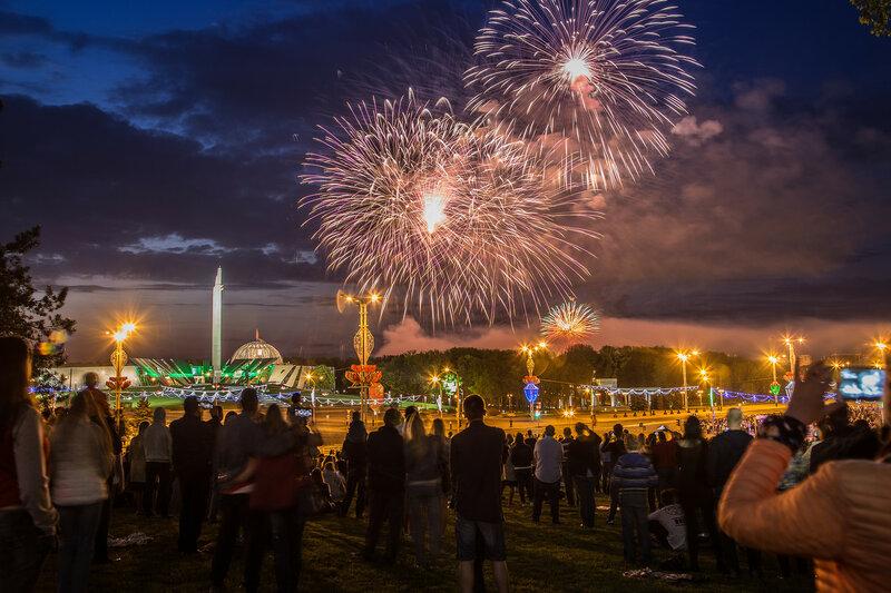 9 мая у стелы Минск - город-герой