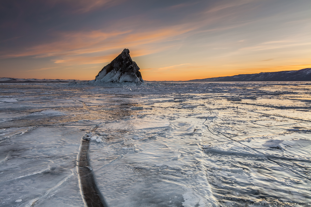 Остров Еленка, Байкал