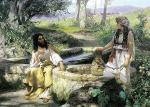 Семирадский Г. И. Христос и самарянка. 1890