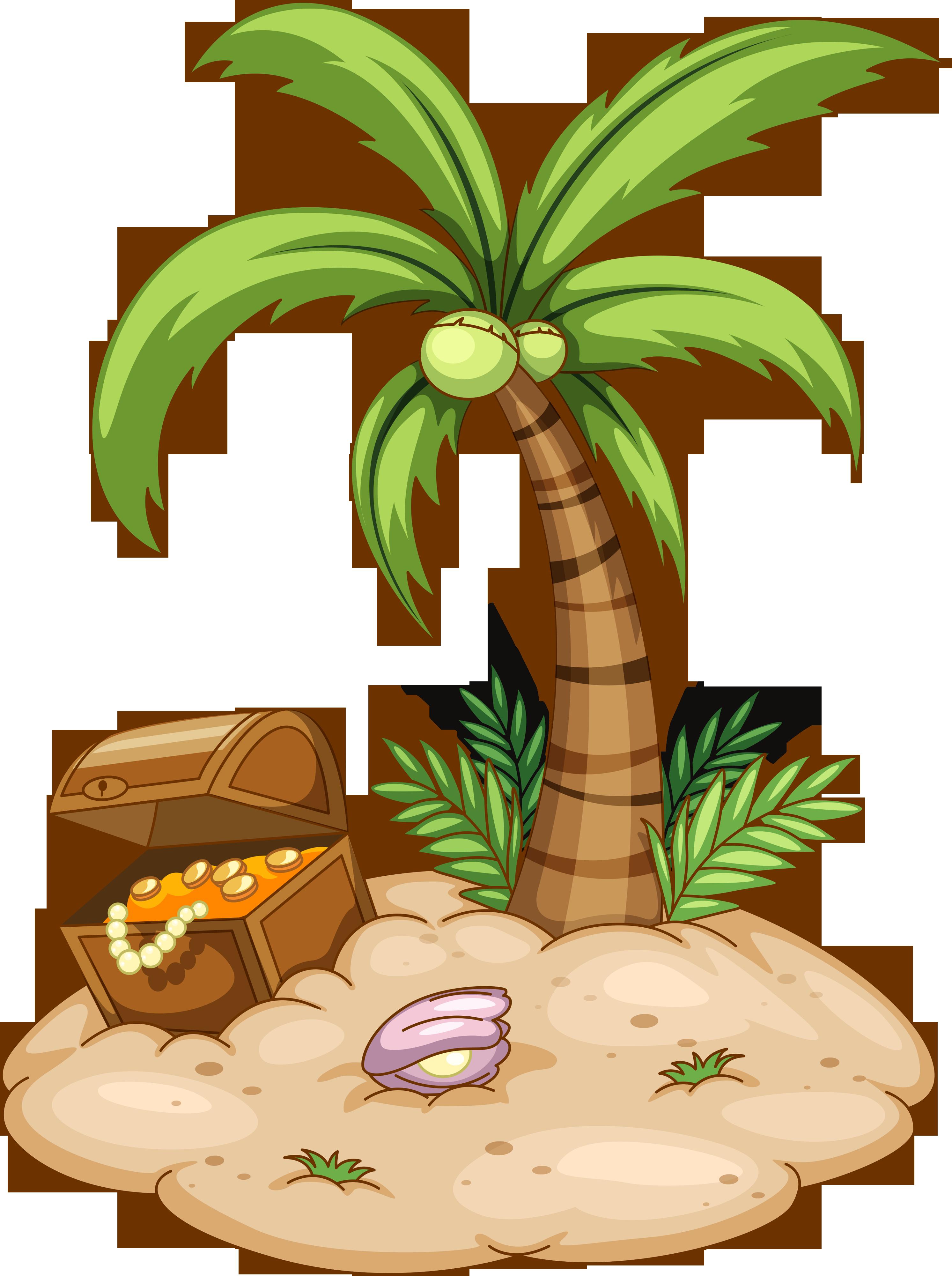 Пальма остров картинка