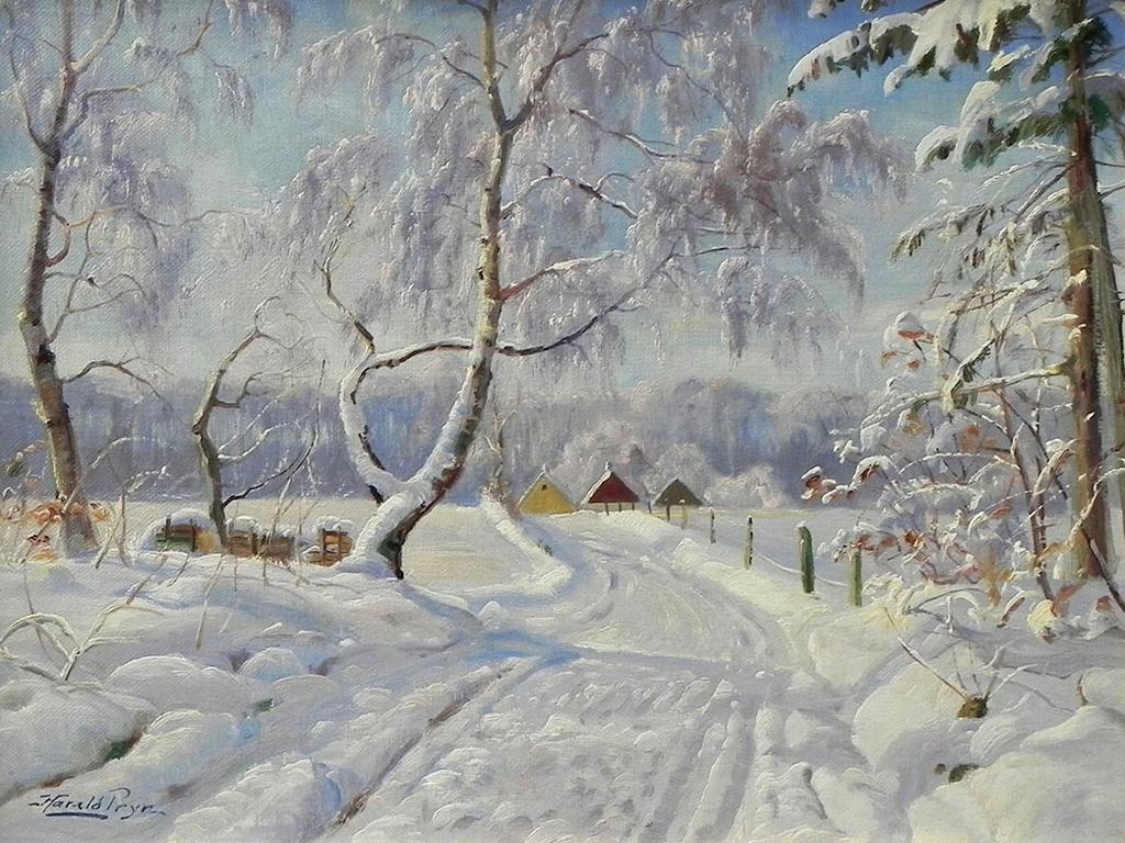 Саврасов зимняя дорога картина