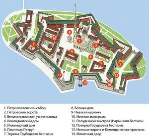 Аудиоэкскурсия: петропавловская крепость [2006]:: zoneland.