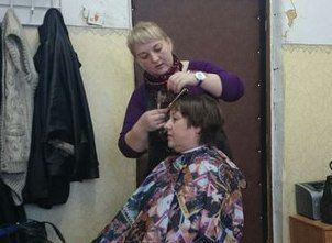 В селе Круша побывал социальный парикмахер