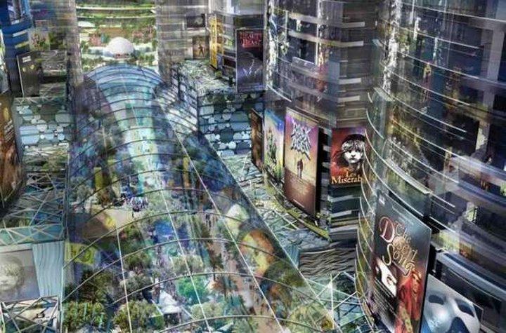 В Дубае идет строительство торгового центра, называемого