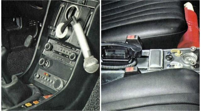 Кроме Мерседесов, в столичной ГАИ работало и несколько BMW E12. Иномарки поступили на службу в Госав
