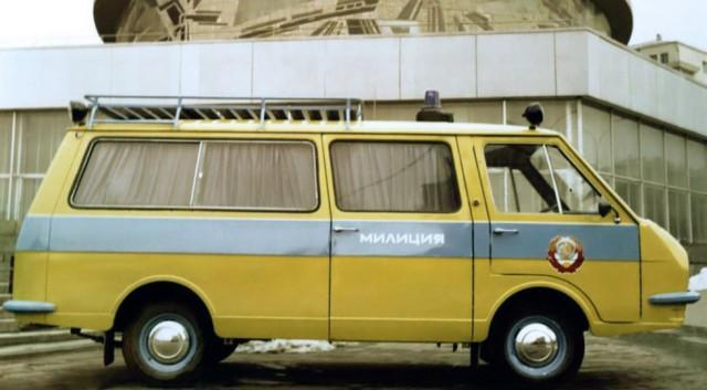 РАФ долго оставался в милицейском строю – даже в первые годы после распада СССР