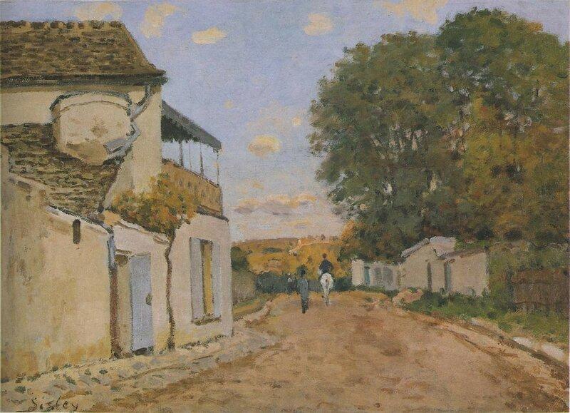 Princesse-street-in-Louveciennes-1872