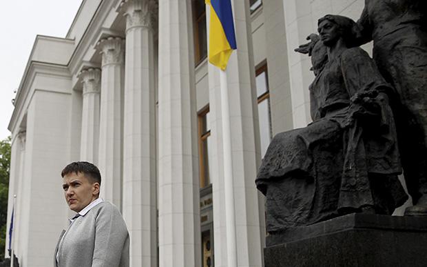 Савченко вПАСЕ поведала озащите государством Украина спокойствия Европы