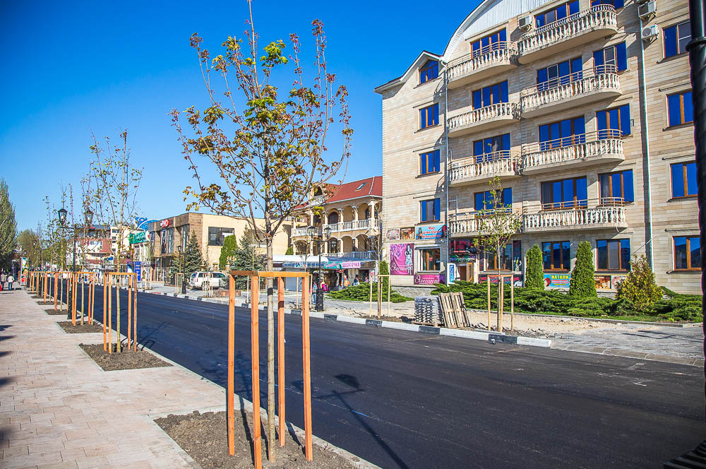 улица Горького Анапа