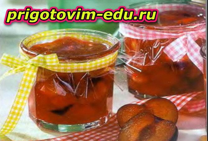 Конфитюр «Дынька с персиком»