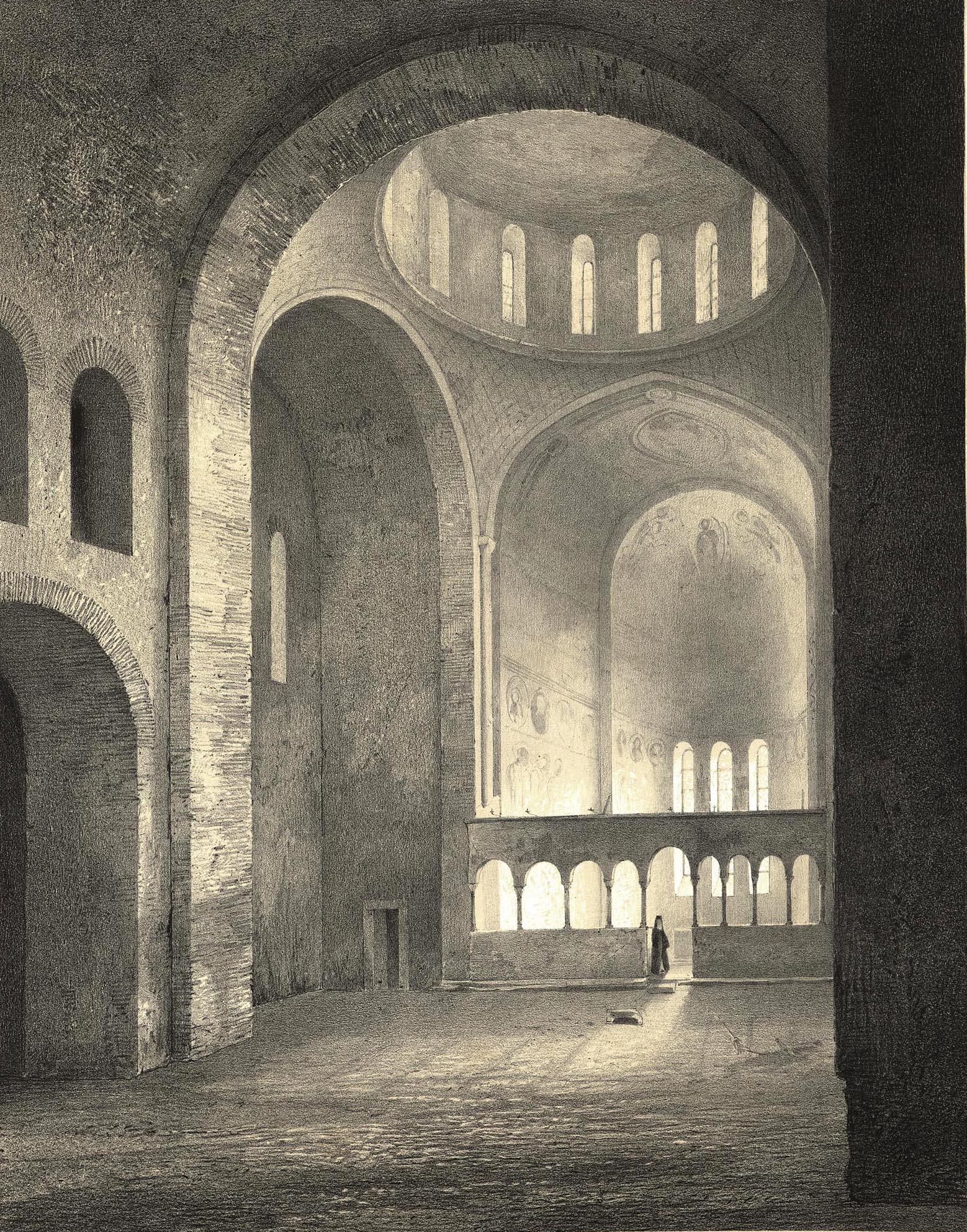 7. Abkhasie. Basilique de Pijzjounda / Абхазия. Базилика в  Пицунде [Собор Св. Андрея]