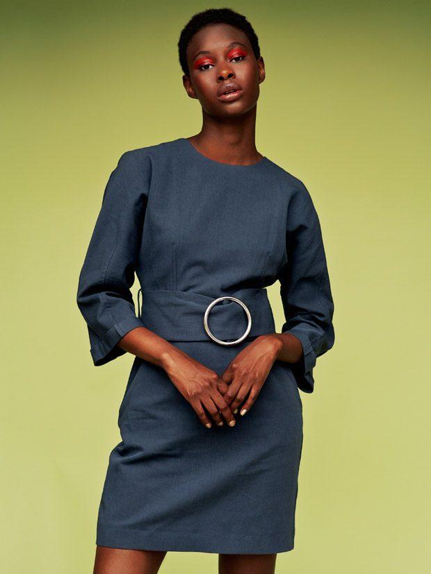 sleeve dress Topshop
