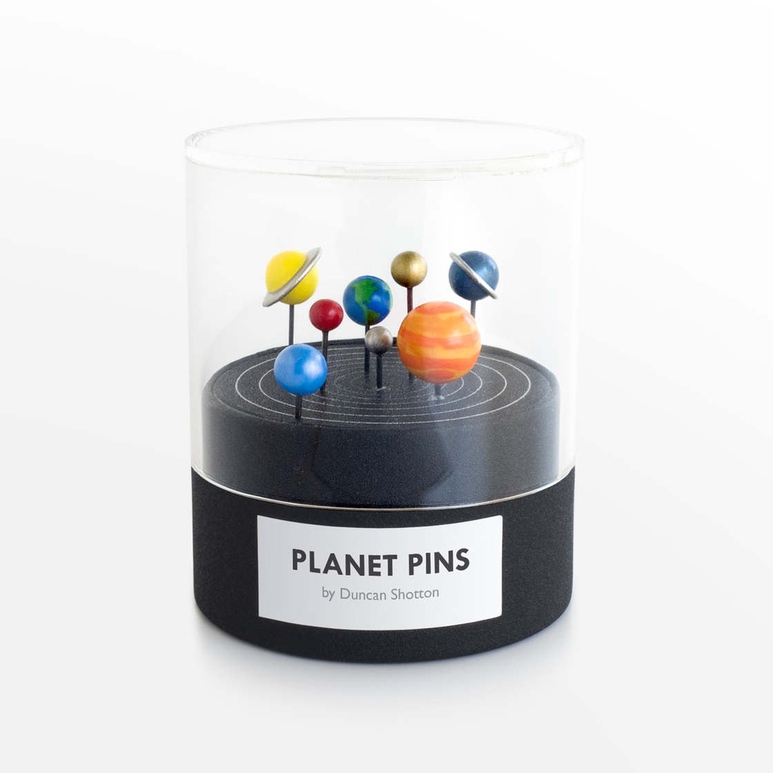 Planet Pins – Some adorable pins shaped as miniature planets (7 pics)