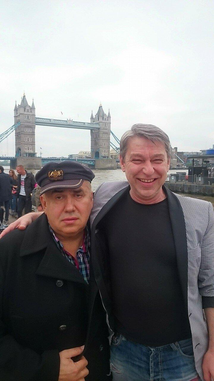 Лондон, июнь 2016