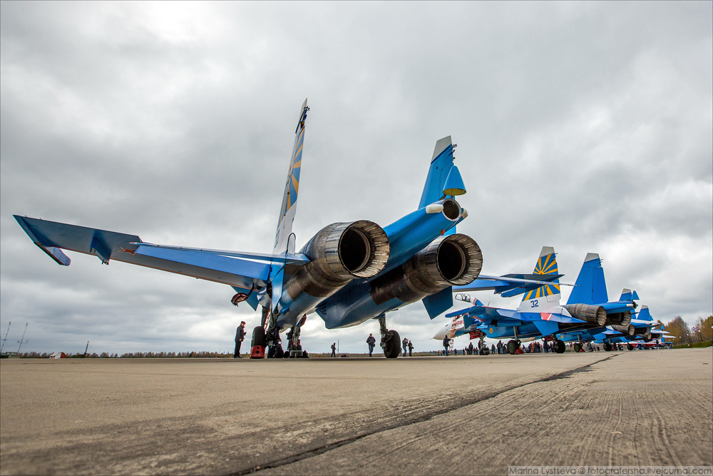 Четыре Су-30СМ получили сегодня Русские витязи