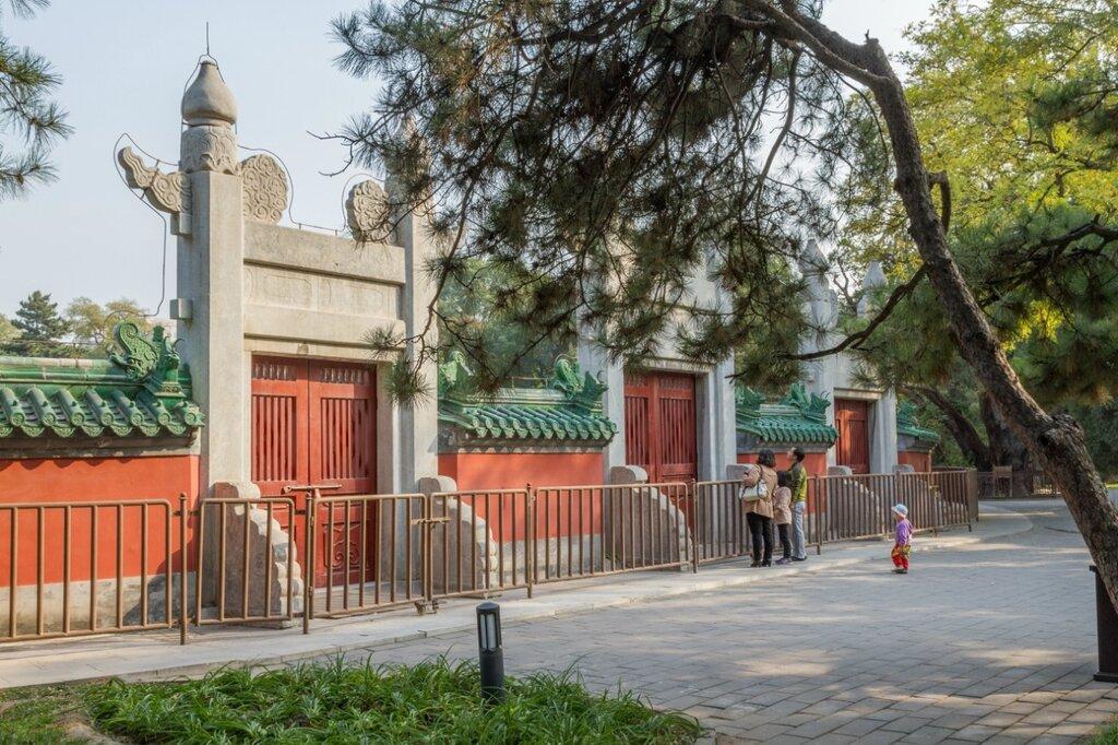 Западные тройные ворота, Житань, Алтарь Солнца, Пекин