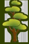 Иконка дерева Сосна © Третьякова Ольга Ан.