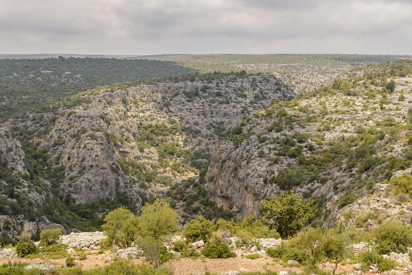 Фотография 22. Каньон Karyağdı Deresi в окрестностях города Кызкалеси в Турции. 1/800, 8.0, 800, 55.