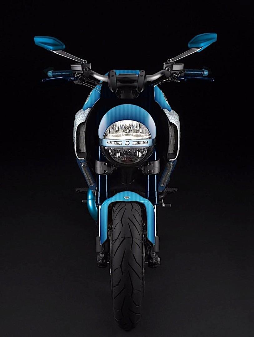 Garage Italia: роскошный мотоцикл Ducati Diavel