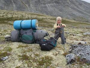 пеший поход по Норвегии с младенцем