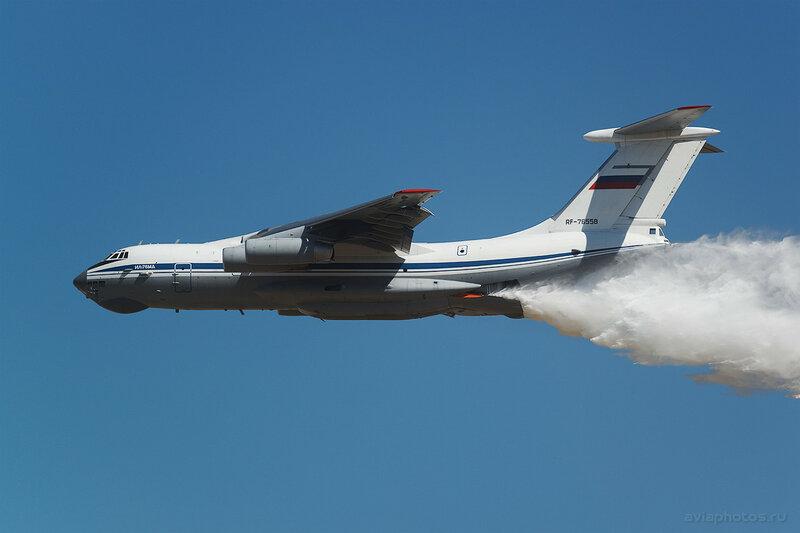 Ильюшин Ил-76МД (RF-76558) ВКС России 1330_D806500
