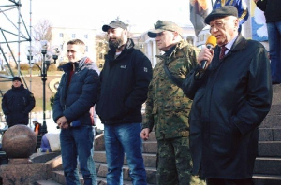 Антисистемный правый протест на Майдане