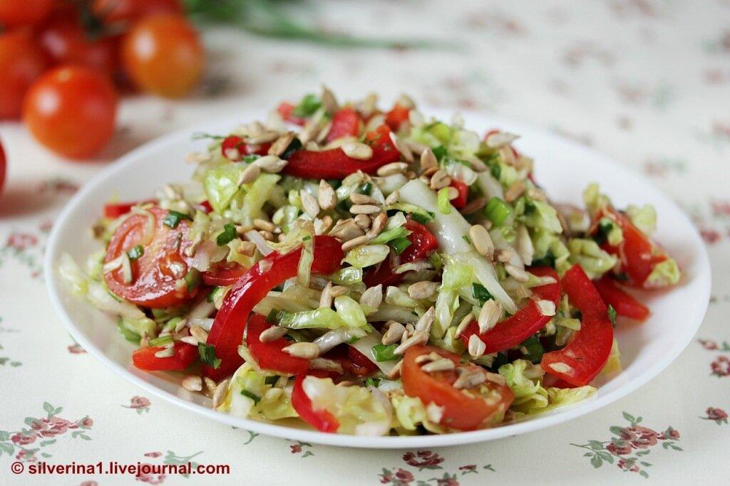 Салат с семечками фото рецепт
