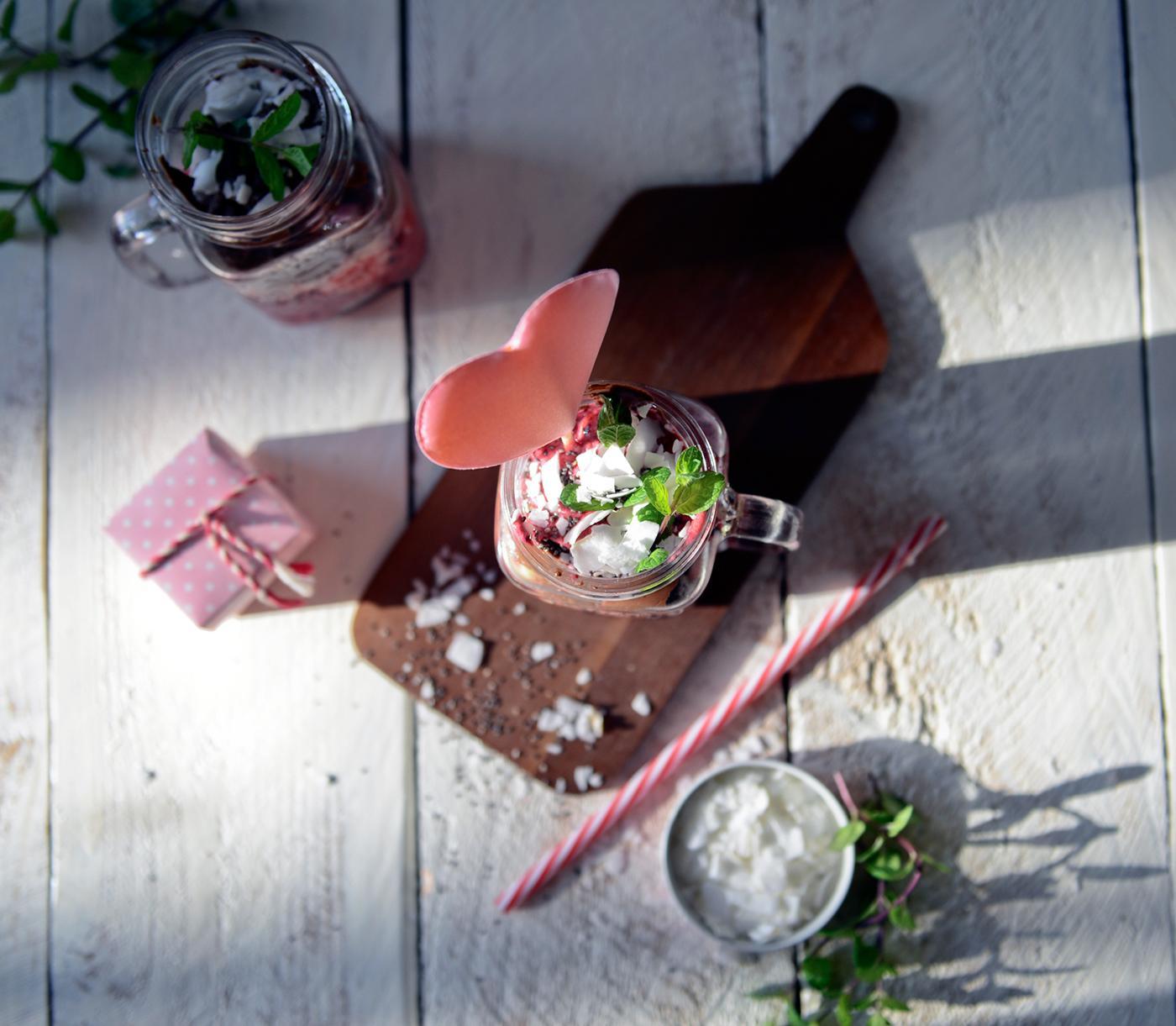 Вкуснятина в День Святого Валентина - Valentine's treats / фото Karolina Zajkowska