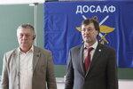 Председатель РО ДОСААФ А.С. Фабрициус и председатель ФРС Литвиненко Г.И..JPG