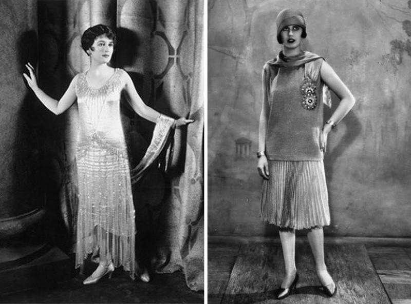 4. После Первой мировой войны наступила эпоха девушек-подростков: невысокий рост, плоская грудь. Лин