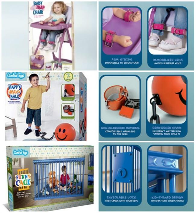 © neatorama.com  Стакими игрушками проблемы плохого поведения будут решены раз инавсегда.