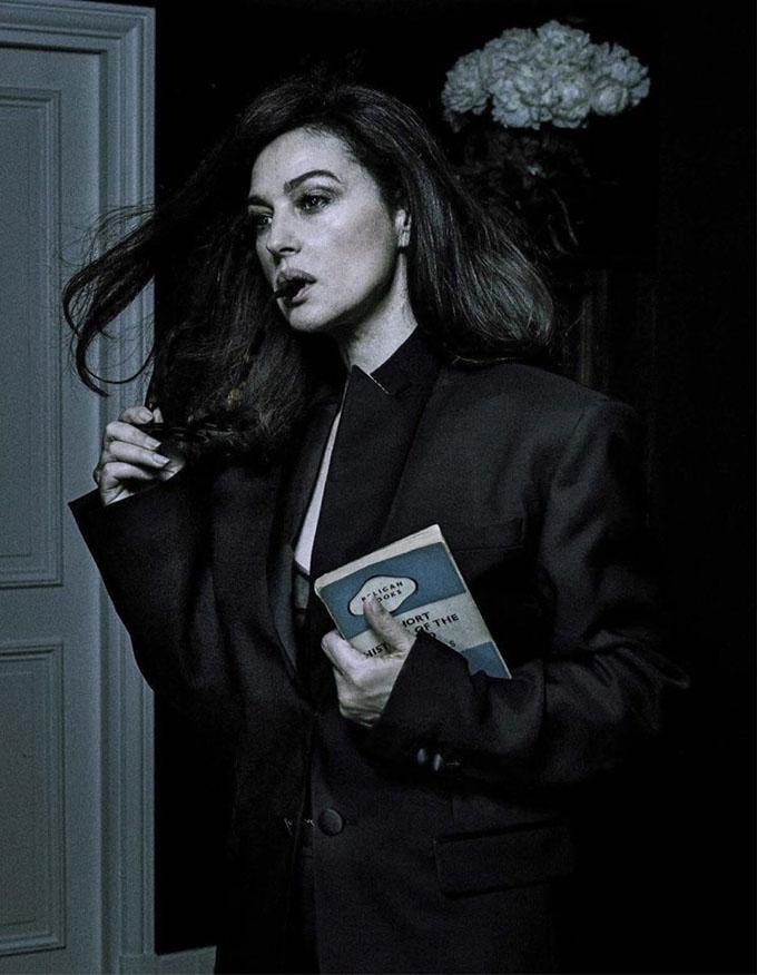 Моника Беллуччи в L'Uomo Vogue и Paris Match (8 фото)