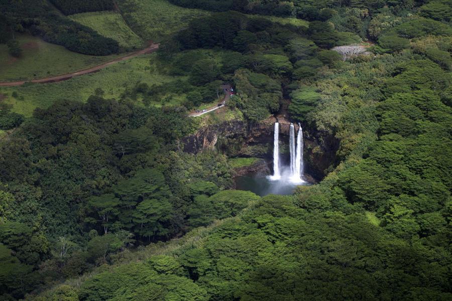 19. Водопад Ваилуа. Автор фото: Роббин Коди