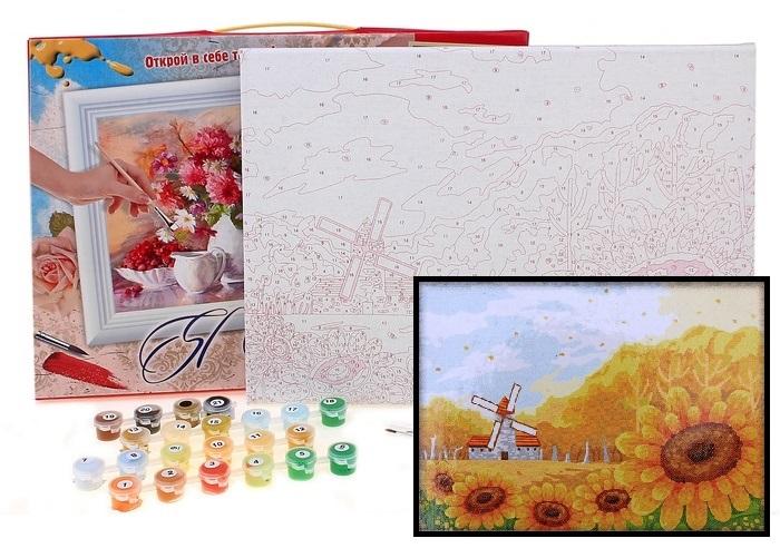 Одним из самых популярных видов рукоделия является роспись картин по номерам. С их помощью можно поч