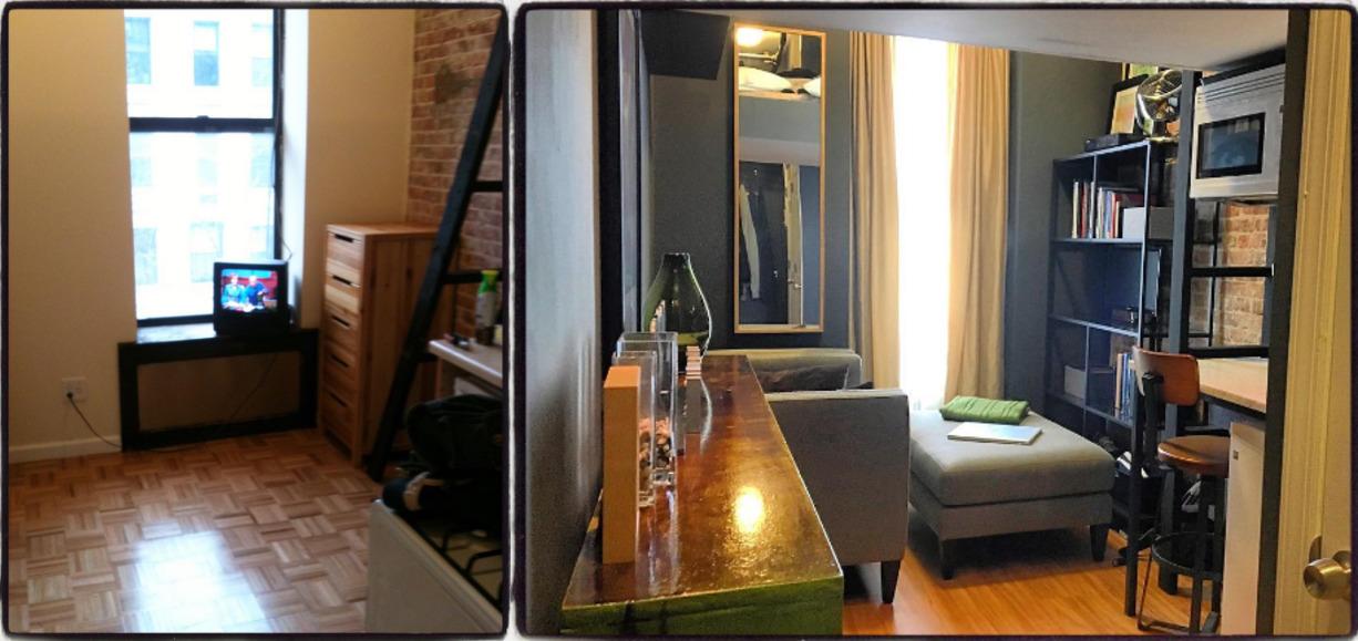 32-летний мужчина снял это жилье шесть лет назад: ему понравилось, что арендная плата небольшая, в к