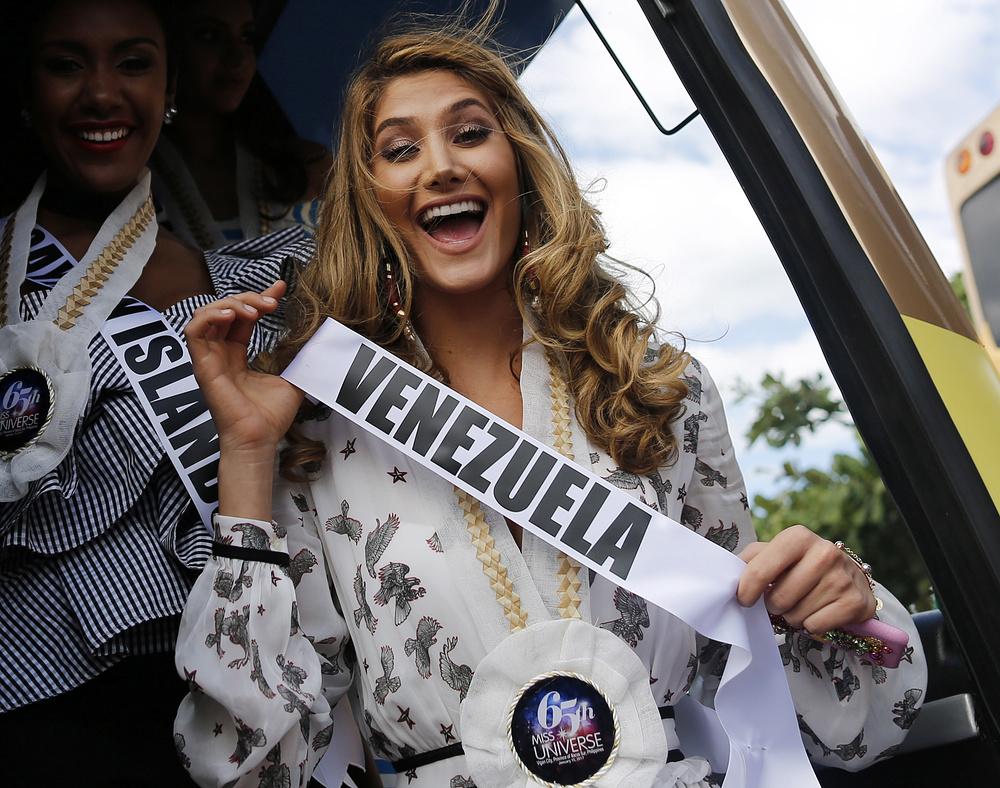Мариам Хэбэч из Венесуэлы.