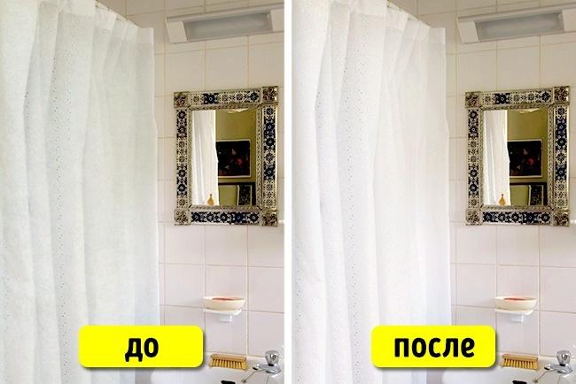 © EAST NEWS  Если вывымоете только что купленные занавески для ванной соленой водой, они нико