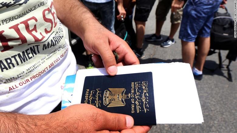 Ирак расположился на 102-й строчке рейтинга. Безвизовый въезд — в 30 стран.