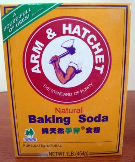 Сода под брендом «Рука и топор». Чтобы следы убийства уничтожать?