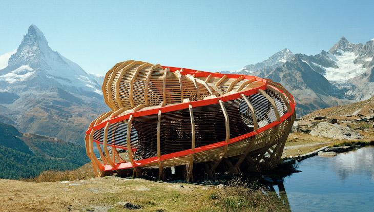 Деревянная архитектура (12 фото)