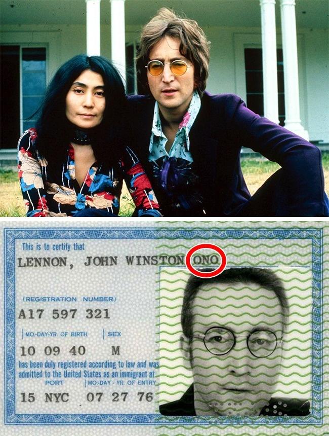 © rexfeatures  © rockhall  История любви Йоко Оно иДжона Леннона стала одним изсамых з