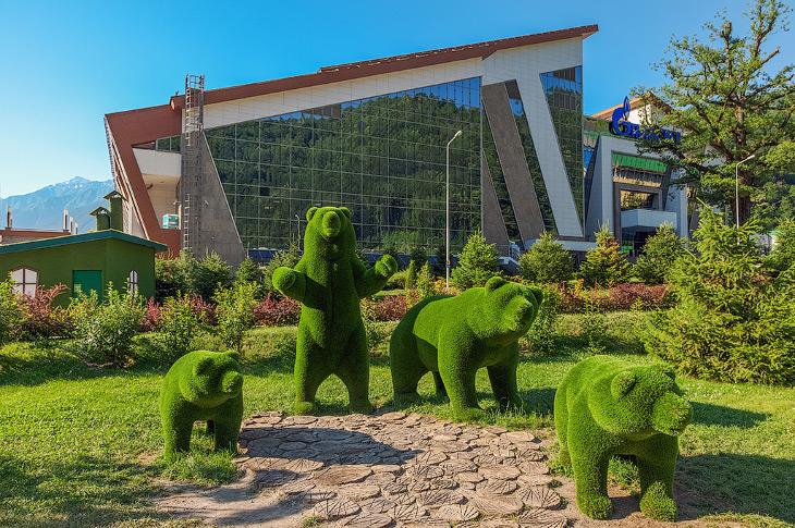 Парк «Зеленая Планета» в Сочи (13 фото)