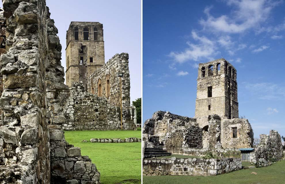 8. Руины старого города Панама-Ла-Вьеха, где в 1671 году высадился на берег Генри Морган, вызывают у