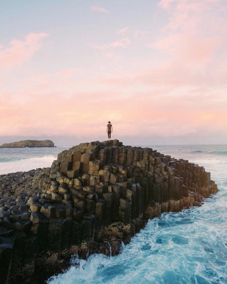 Органные скалы на мысе Фингал-Хэд (штат Новый Южный Уэльс, Австралия). Странно, но разве один из эпи