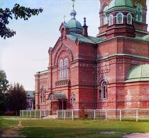 Летний собор в Леушинском монастыре. Собор Похвалы Божией Матери. 1909 год