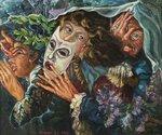 1_1981_Поэт, муза и уголовник (Комедианты)_50 x 59,7_х.,м._Частная коллекция.jpg