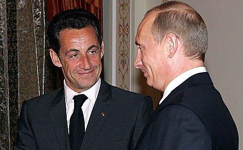 Саркози считает Владимира Путина самым необычайным лидером