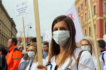 Вкрупных городах Польши прошли массовые протесты против полного запрета абортов